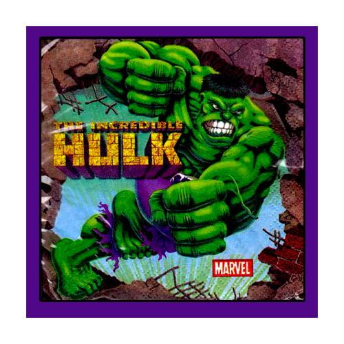 Incredible Hulk Animated Small Napkins (16ct)