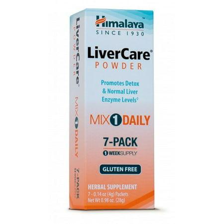 - Liver Care Himalaya Herbals 7 Packets Box