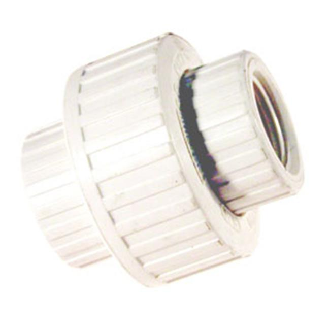 B And K Industries 1-. 50inch PVC Schedule 80 Threaded Union  164-137