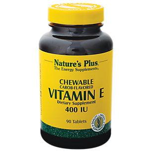Croquer vitamine E