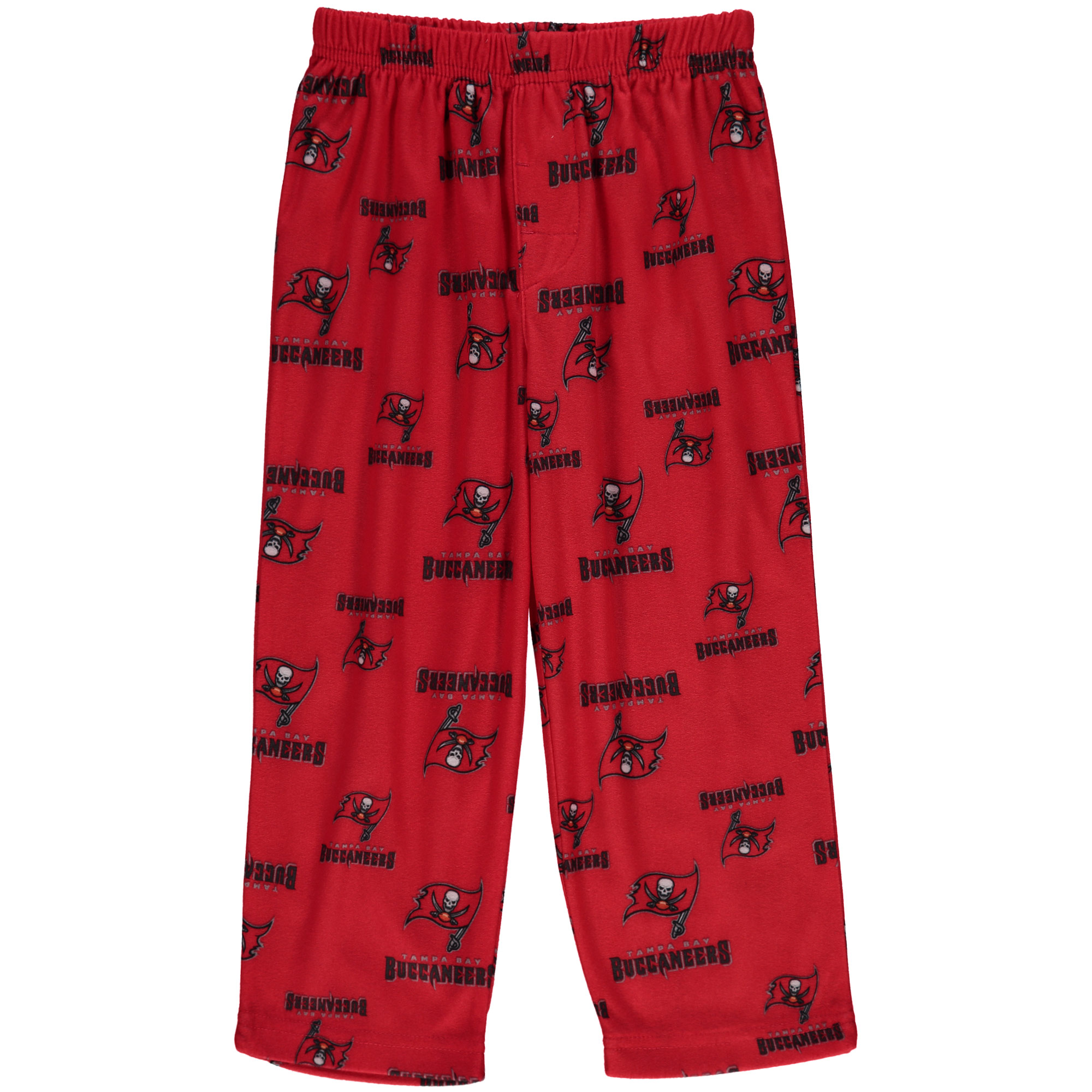 Tampa Bay Buccaneers Toddler Allover Print Pajama Pants - Red