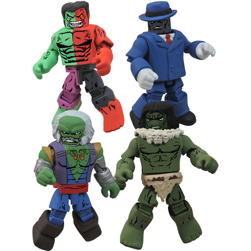 Marvel Minimates Hulk Through the Ages Action Figures Box Set