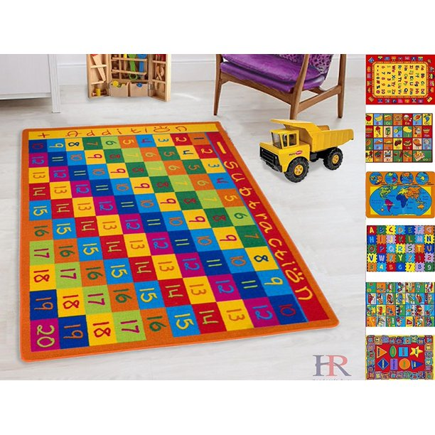 Handcraft Rugs Kids Rug Educational