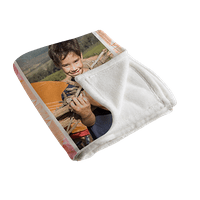 60x80 Plush Fleece Photo Blanket