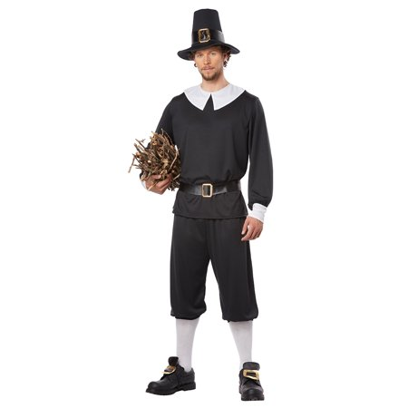 Adult Pilgrim Man Costume by California Costumes 01312 (Pilgrim Costume Adult)