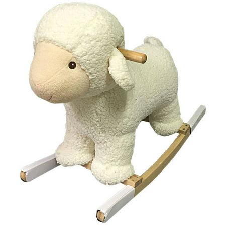 Plush Rocking Lamb
