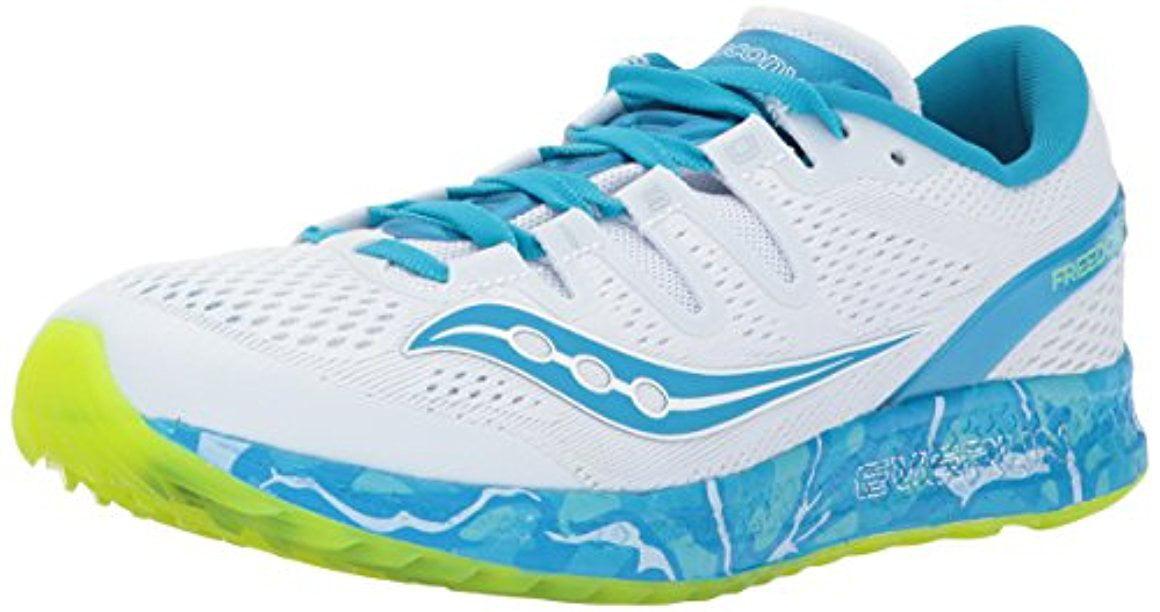 Saucony Women's 11 Freedom ISO Running-Shoes, 11 Women's B(M) US, Blue 26cd56