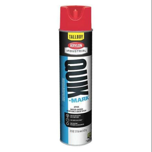 KRYLON Marking Paint,Brilliant Red,22 oz.,Water, T03911004