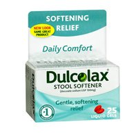 Dulcolax Daily Comfort Softening Relief Stool Softener 25 ...