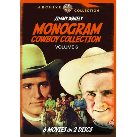 MOD-MONOGRAM COWBOY COLLECTION VOL 6 (2 DVD/NON-RETURNABLE/1946-49) - Cowboy 2