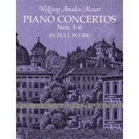 Dover Music Scores: Piano Concertos Nos. 1-6 in Full Score (Other)