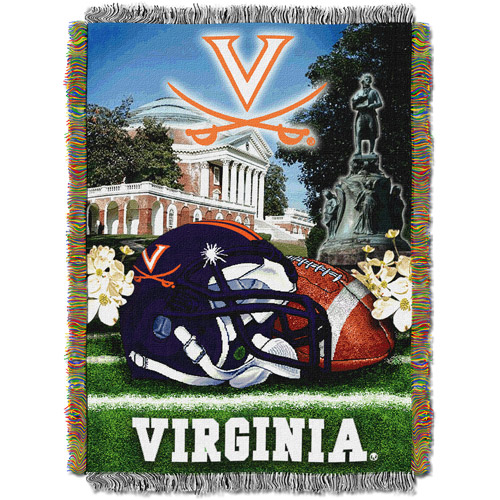"NCAA 48"" x 60"" Tapestry Throw Home Field Advantage Series- Virginia"