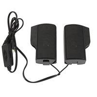 EOTVIA 2pcs Wall-mounted Laptop External Hanging Speakers Black USB Powered , Hanging Speakers, Hanging Laptop Speakers