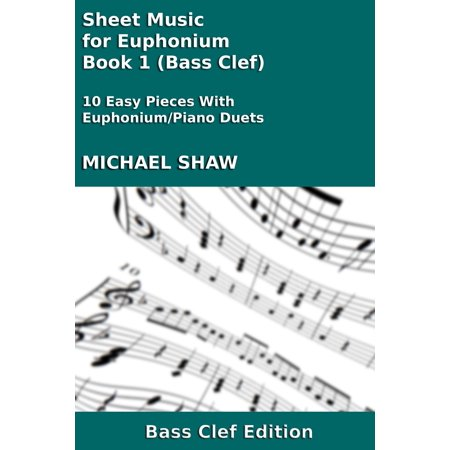 Sheet Music for Euphonium - Book 1 (Bass Clef) - eBook