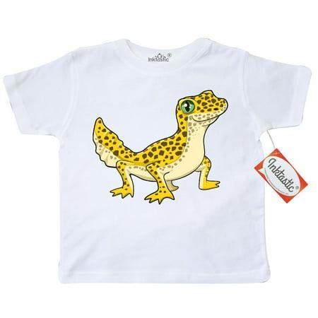 Inktastic Cute Leopard Gecko Toddler T-Shirt Pets Reptiles Lizard Herpatology Herpatologist Spots Love Pet Herp Tees. Gift Child Preschooler Kid Clothing - Cute Geckos
