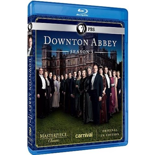 Downton Abbey: Season 3 (Original UK Unedited Edition) (Blu-ray)