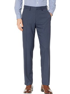 Kenneth Cole Reaction Heather Stretch Gab Modern Fit Dress Pants