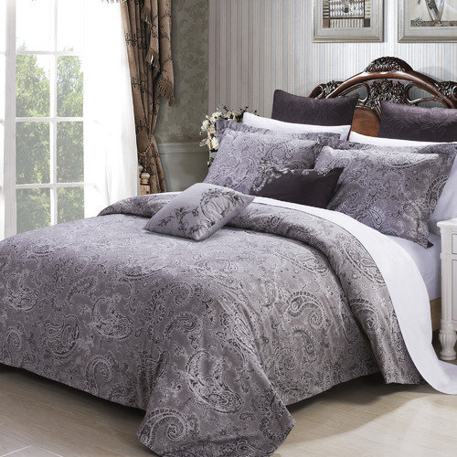 North Home Paris 3 Piece Duvet Cover Set