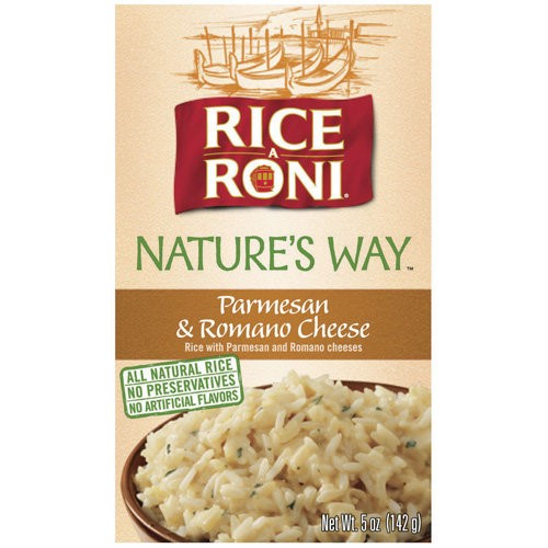 Rice-A-Roni Rustic Recipes Parmesan & Romano Cheese 5 oz Box