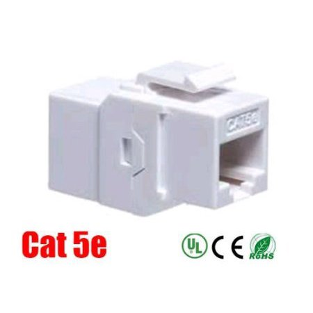 iMBAPrice Cat 5e Keystone Inline Coupler - -