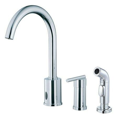 Danze Parma D423058 Single Handle Dual Control Kitchen Faucet with ...