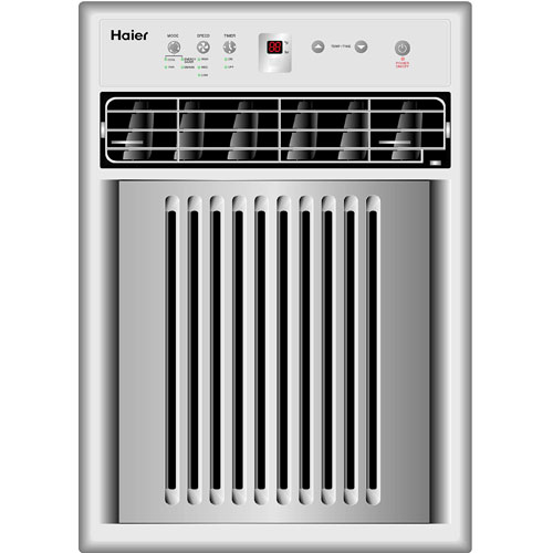 btu haier vertical window air conditioner