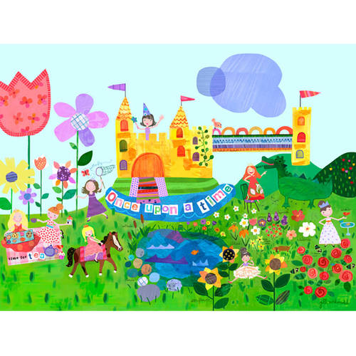Oopsy Daisy's Once Upon a Time Canvas Wall Art, 24x18