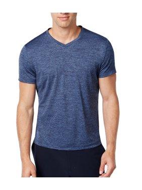 e915d577 Product Image Alfani Mens Large V Neck Space-Dye Short-Sleeve Tee T-Shirt