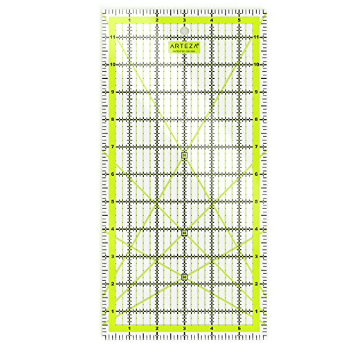 """Arteza Acrylic Quilters Ruler 6X12"""" by"""