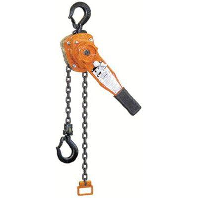CM Columbus McKinnon Series 653 Lever Chain Hoists - 653 3/4 ton lever hoist5' lift