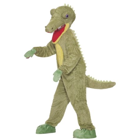 What a Croc Mascot Adult Halloween Costume, Size: Men's - One Size