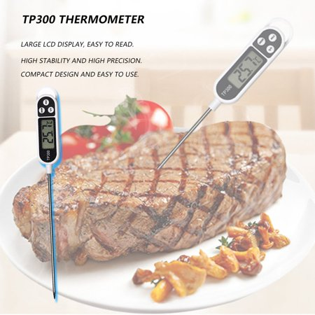 HC-TOP Stainless Steel Household Kitchen Food Meat Probe Thermometer Measure Tool - image 8 of 8
