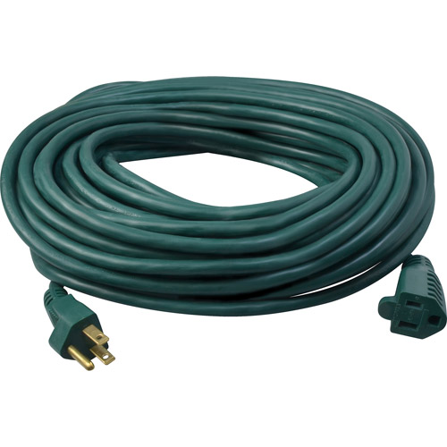 Coleman Cable 40' Green Outdoor Extension Cord
