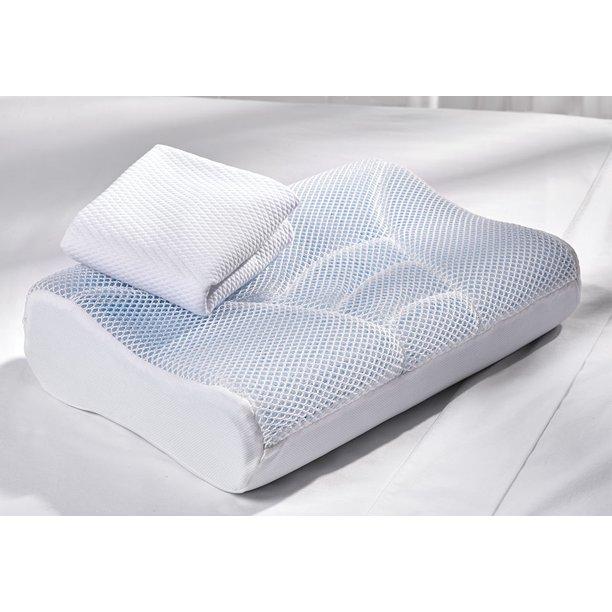Cool Air Memory Foam Pillow Walmart Com Walmart Com