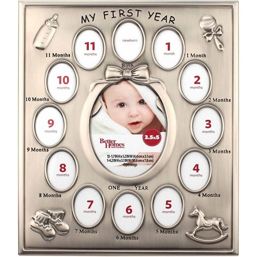 Better Homes & Gardens Baby's First Year Milestone Frame