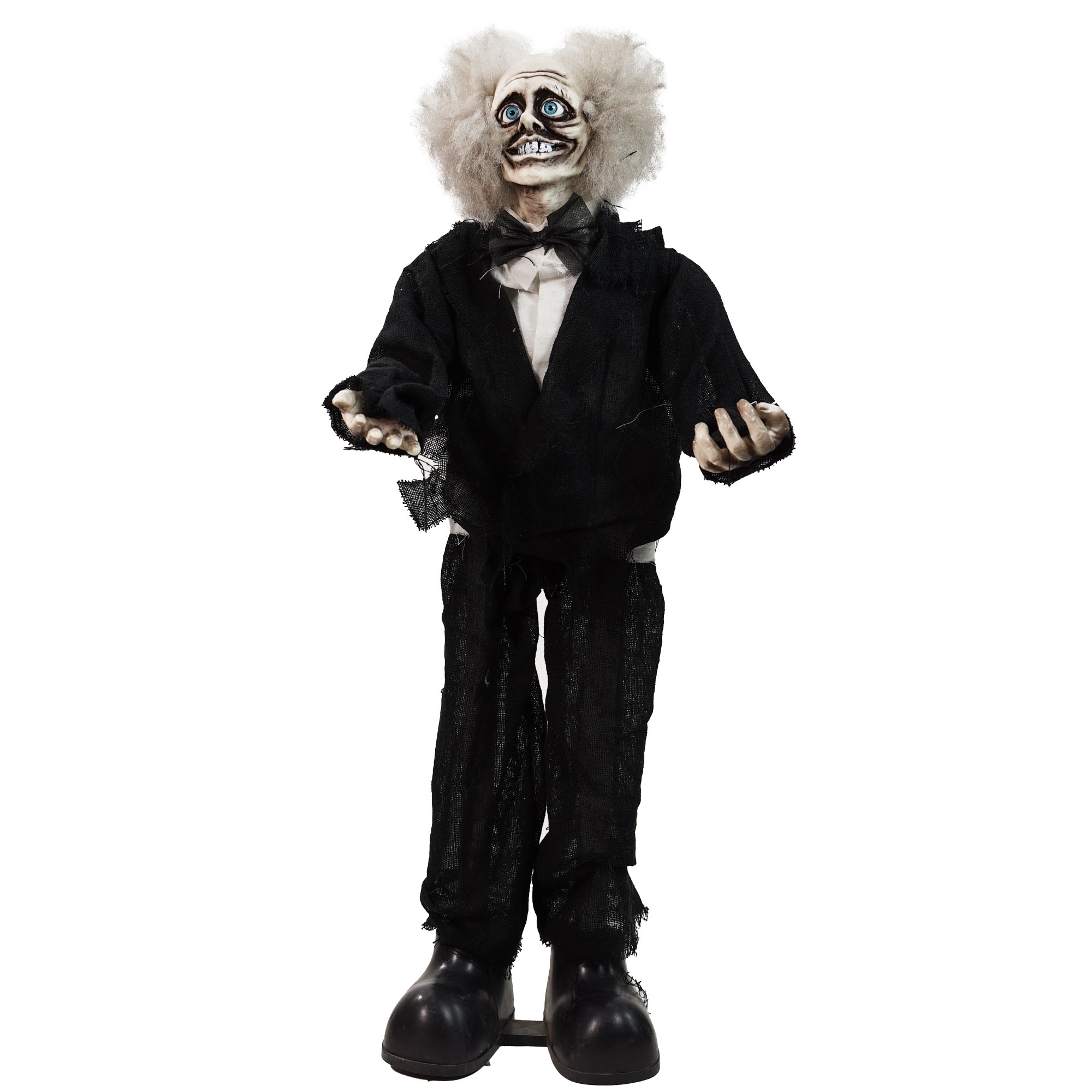 "31"" touch activated crazy man animated halloween decoration with sound"