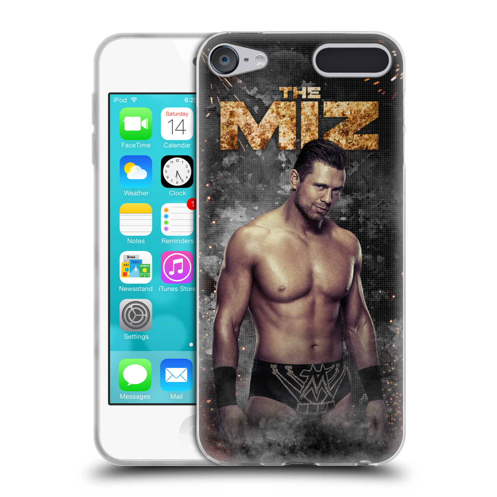 OFFICIAL WWE THE MIZ SOFT GEL CASE FOR APPLE IPOD TOUCH MP3