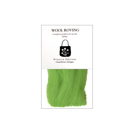 Edition Wool (WSTW843R WISTYRIA EDITIONS 100 WOOL ROVING 12 LIME)