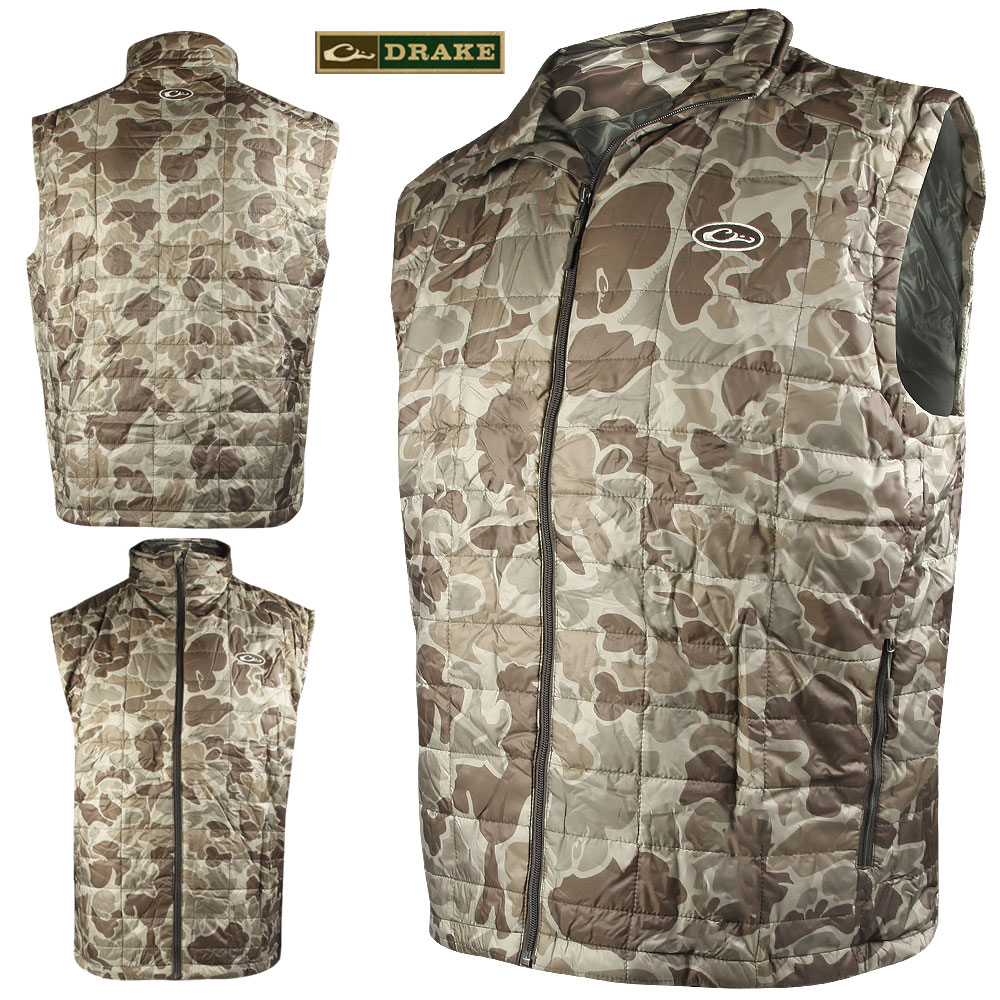 Drake Waterfowl Syn. Down VEST (2X)- OLD S.TIMBER