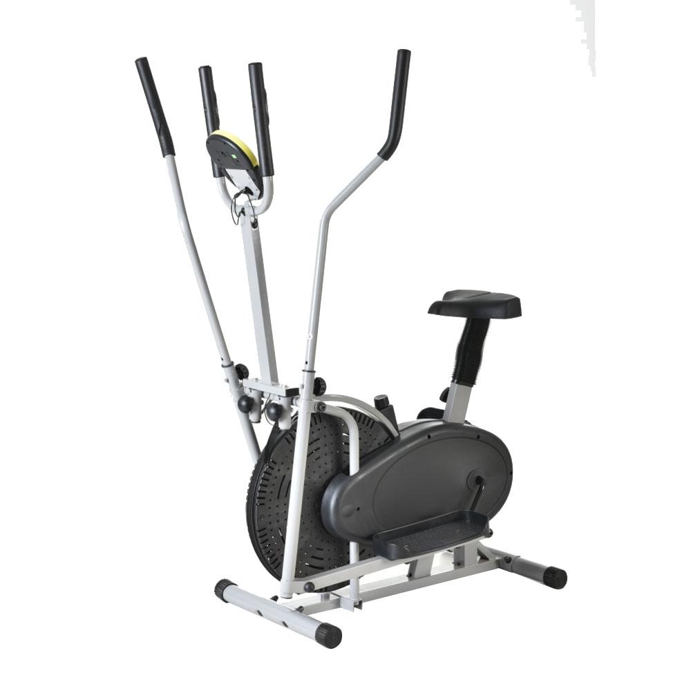 Ktaxon Elliptical Bike 2 IN 1 Cross Trainer Exercise Fitn...