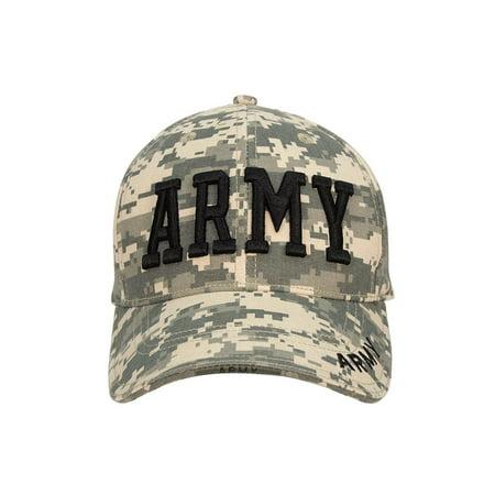 925501967 ACU Digital Camo Low Profile ARMY Baseball Cap