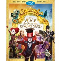 Alice Through the Looking Glass Blu-ray + DVD + Digital HD Deals