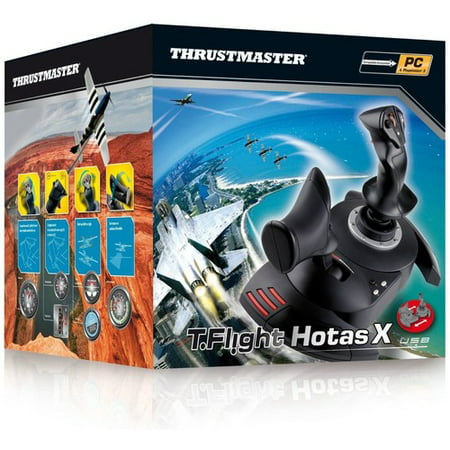Thrustmaster 2960703 T-flight Hotas X Flight Stick,