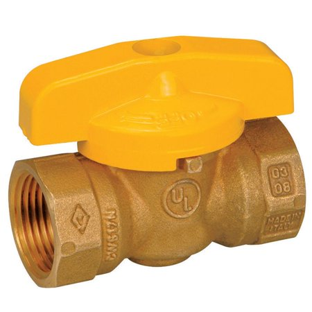 Forged Brass Gas Ball Valve - VALVE BALL GAS 1/2