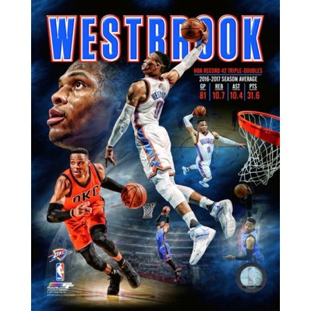 Russell Westbrook Portrait Plus Photo (Westbrook Outlets Stores)