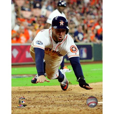 George Springer Game 1 of the 2018 American League Division Series Photo  Print