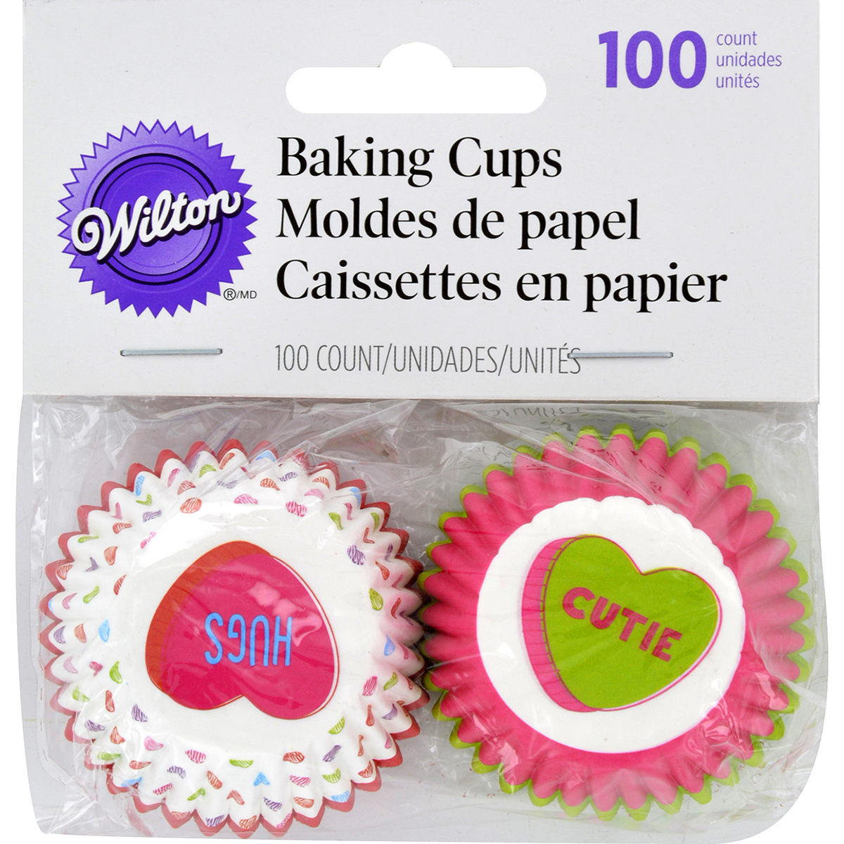 Mini Baking Cups-Words Can Express 100/Pkg