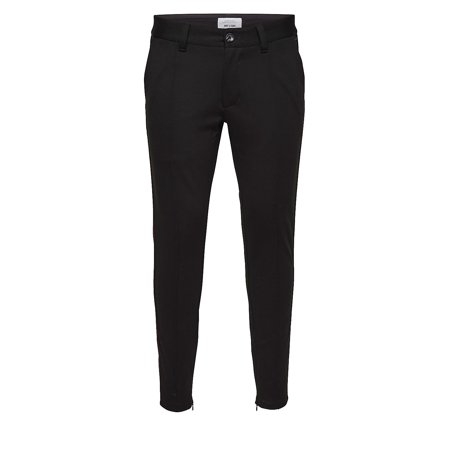 Contrast Detailed Trousers