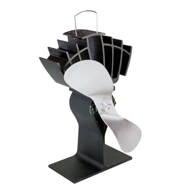 Caframo 810CA-KBX Ecofan for Wood Stoves - Black and Nickel