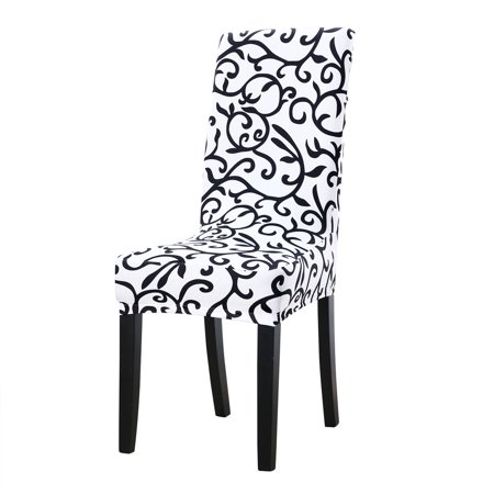 Stretch Chair Covers Shorty Dining Chair Slipcovers White Black Walmart Canada